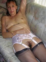 espiando a mujeres peludas